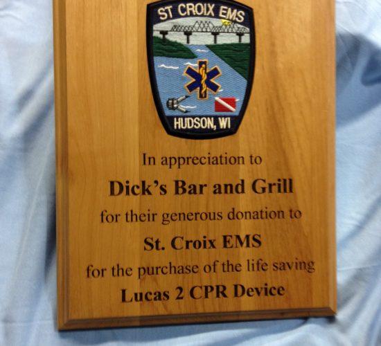 EMS plaque