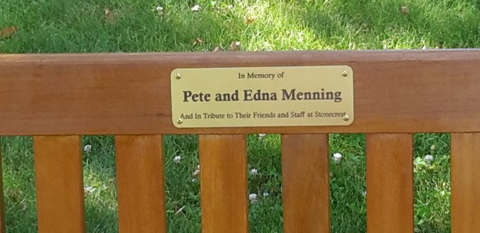Remembering Pete and Edna